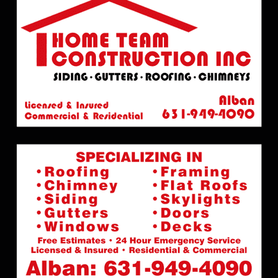 Avatar for Home team construction inc