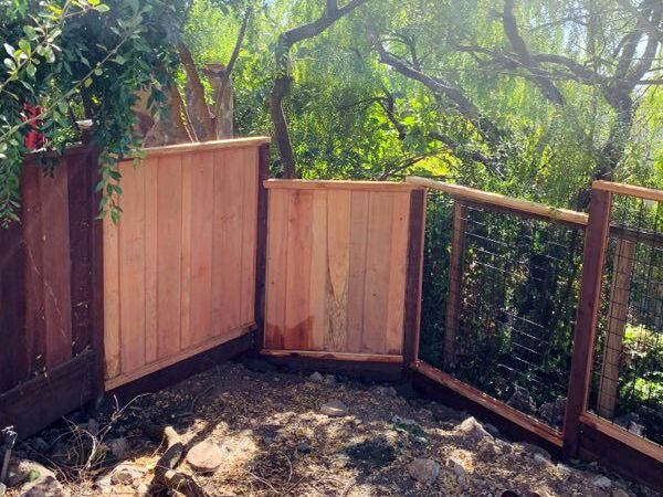 Picture Frame and Boxed Frame Fence  Installation
