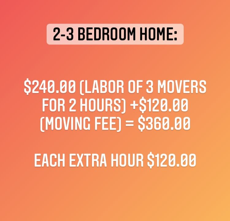 2 or 3 bedroom home