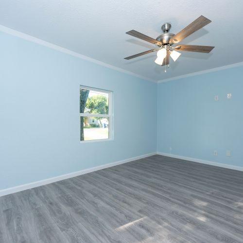Flooring, Lighting sheet rock and paint.
