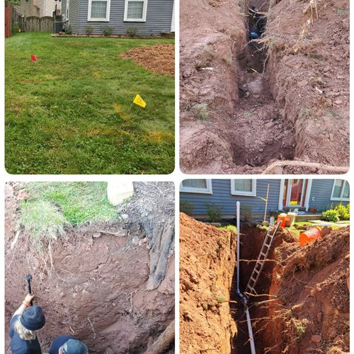 Sewer replacement