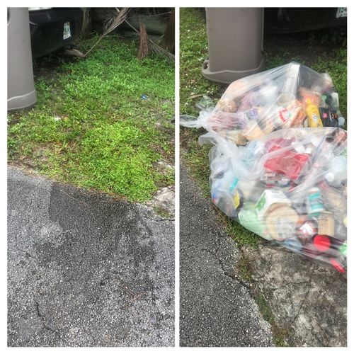 Trash 🗑 pick up Contact me now