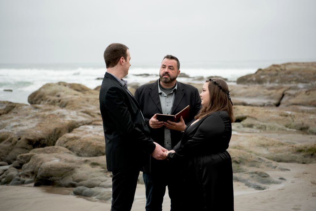 Wedding Officiant - Pacific City 2020