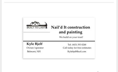 Avatar for Nail'd it construction and painting