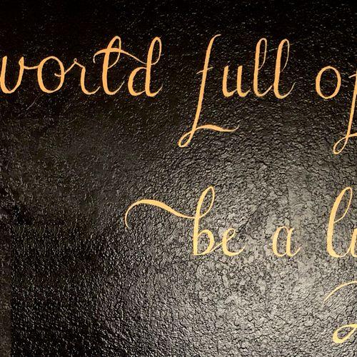 Wall Calligraphy