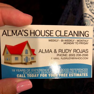 Avatar for Alma's House Cleaning