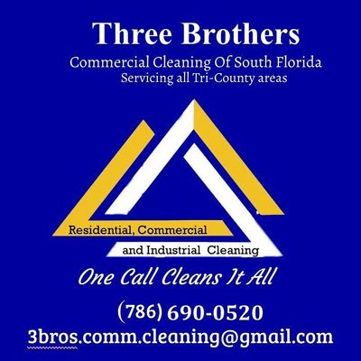 Avatar for 3 Brothers Commercial Cleaning of South Florida