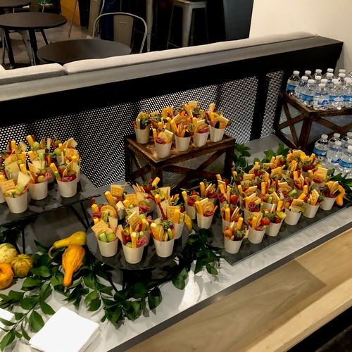 Charcuterie Cup buffet