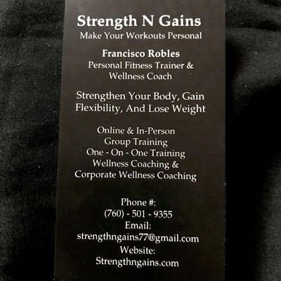 Avatar for Strength n gains