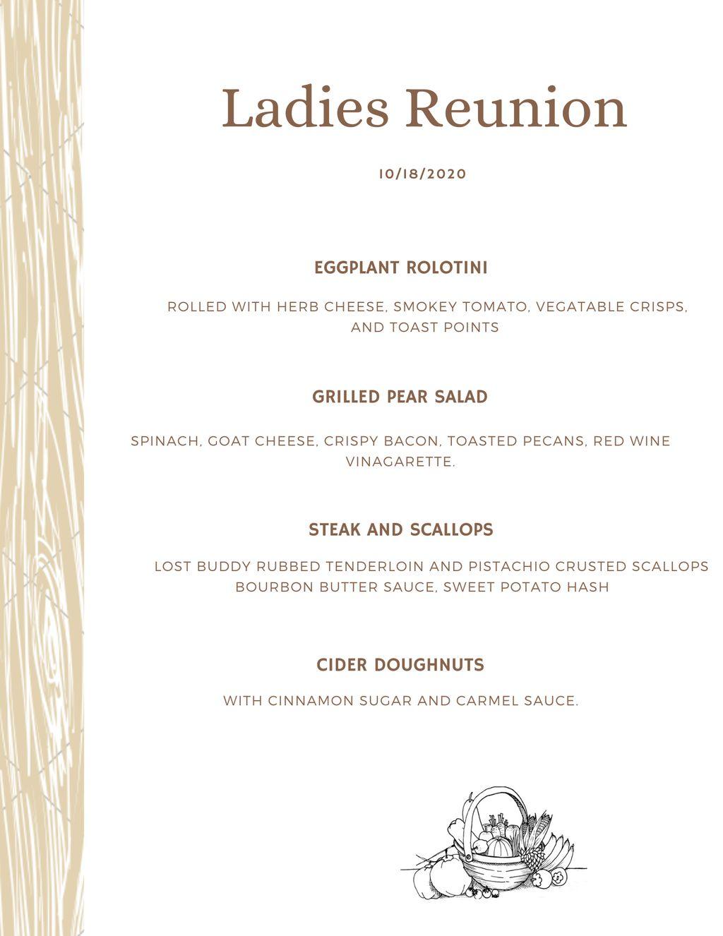 Ladies reunion