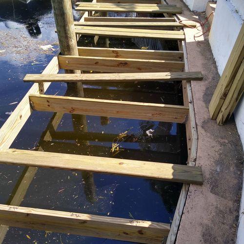 installing new deck