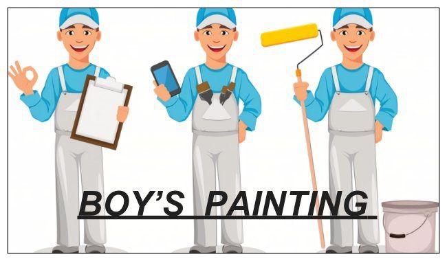 Boy's painting