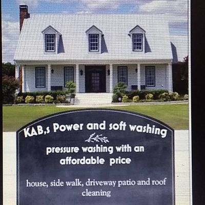 Avatar for KAB power and soft washing service