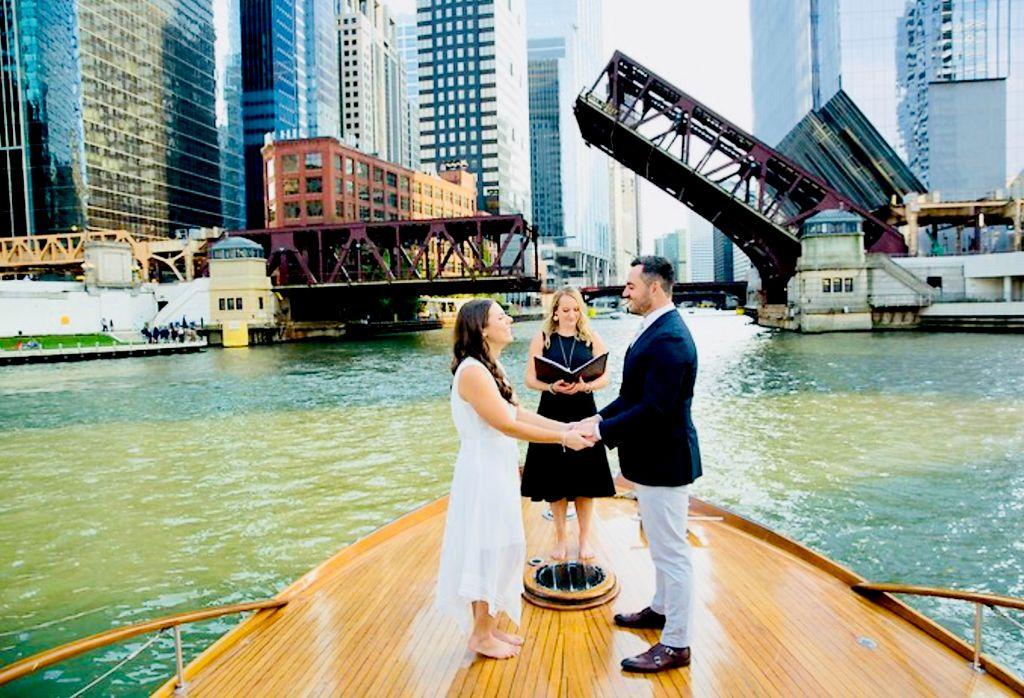 Lady Grebe Boat Wedding