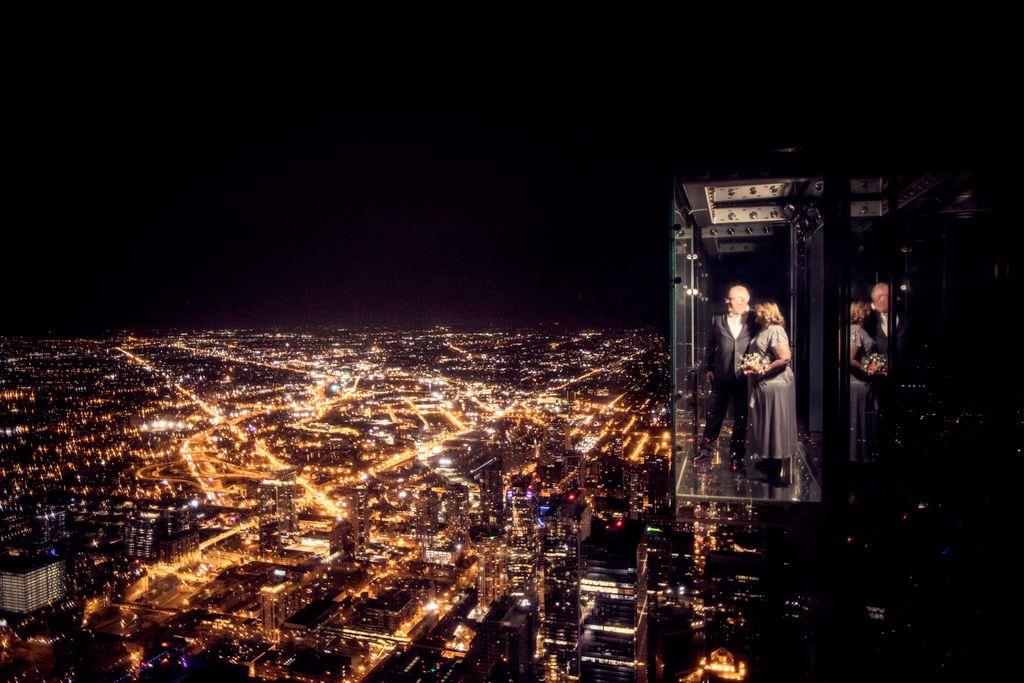 Willis Tower Skydeck Wedding