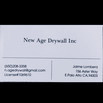 Avatar for New Age Drywall Inc