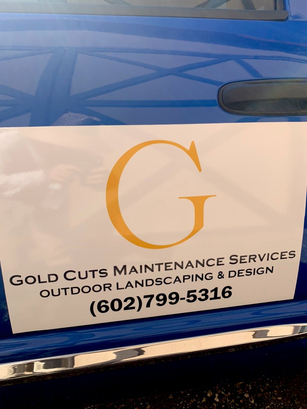 Gold cuts maintenance services