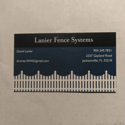 Avatar for Lanier Fence Systems