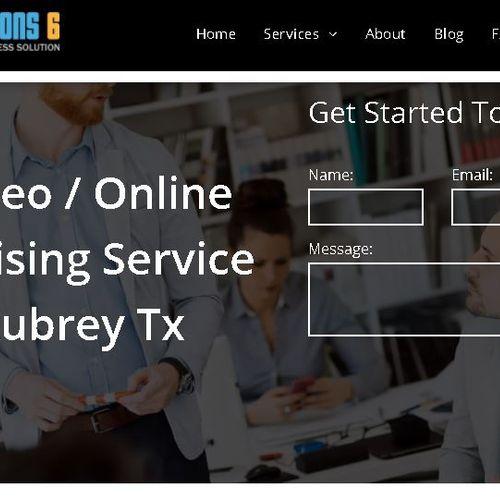 Creation of new website