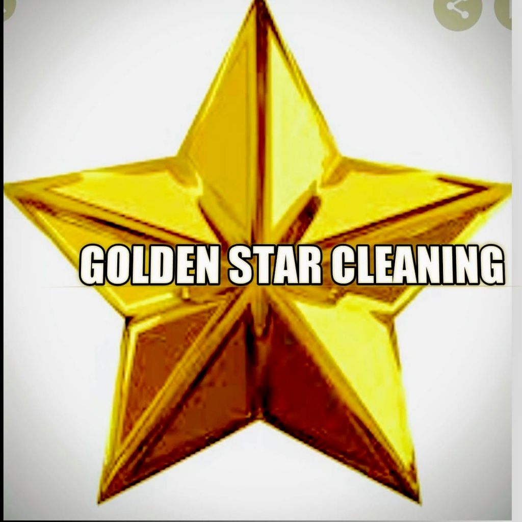 Golden star cleaning 🌟