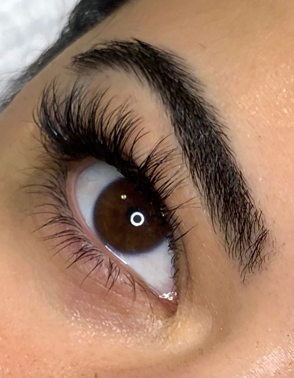 Offering Lash extensions