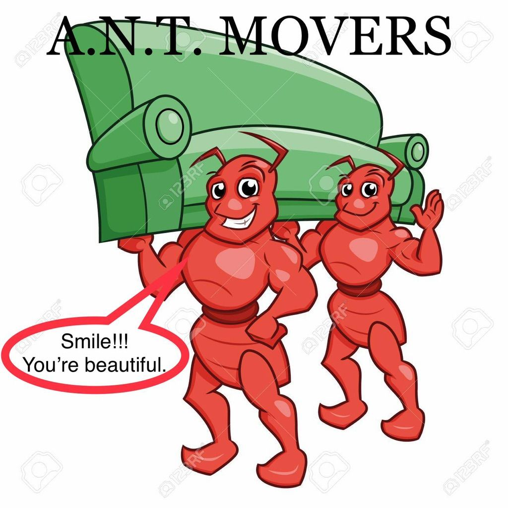 ANT MOVERS ($70/hr)