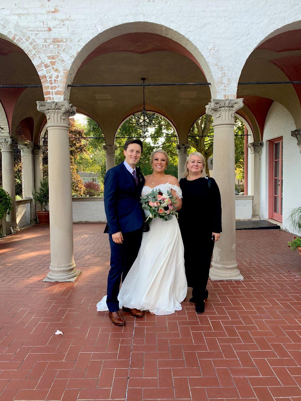 Elegant Villa Terrace Ceremony