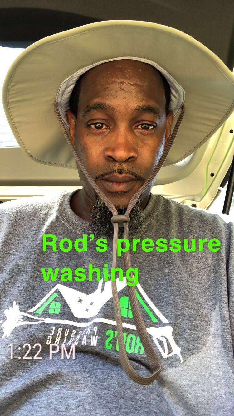 Rods pressure washing