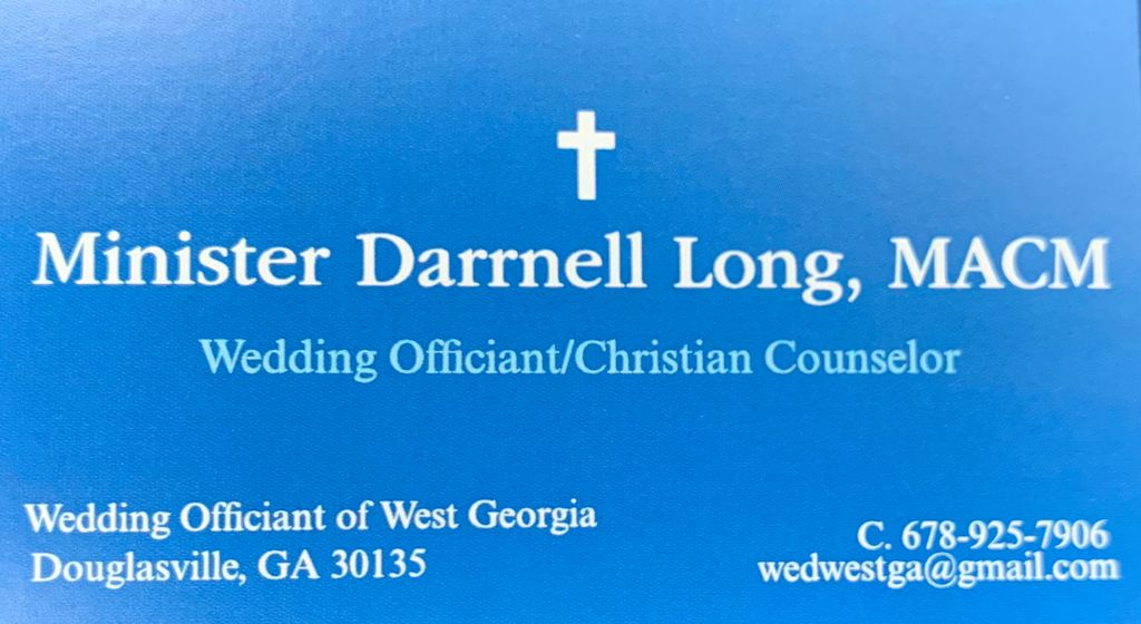 Wedding Officiants Of West Georgia