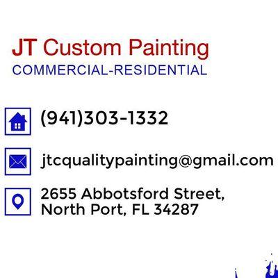 Avatar for JT Custom Painting