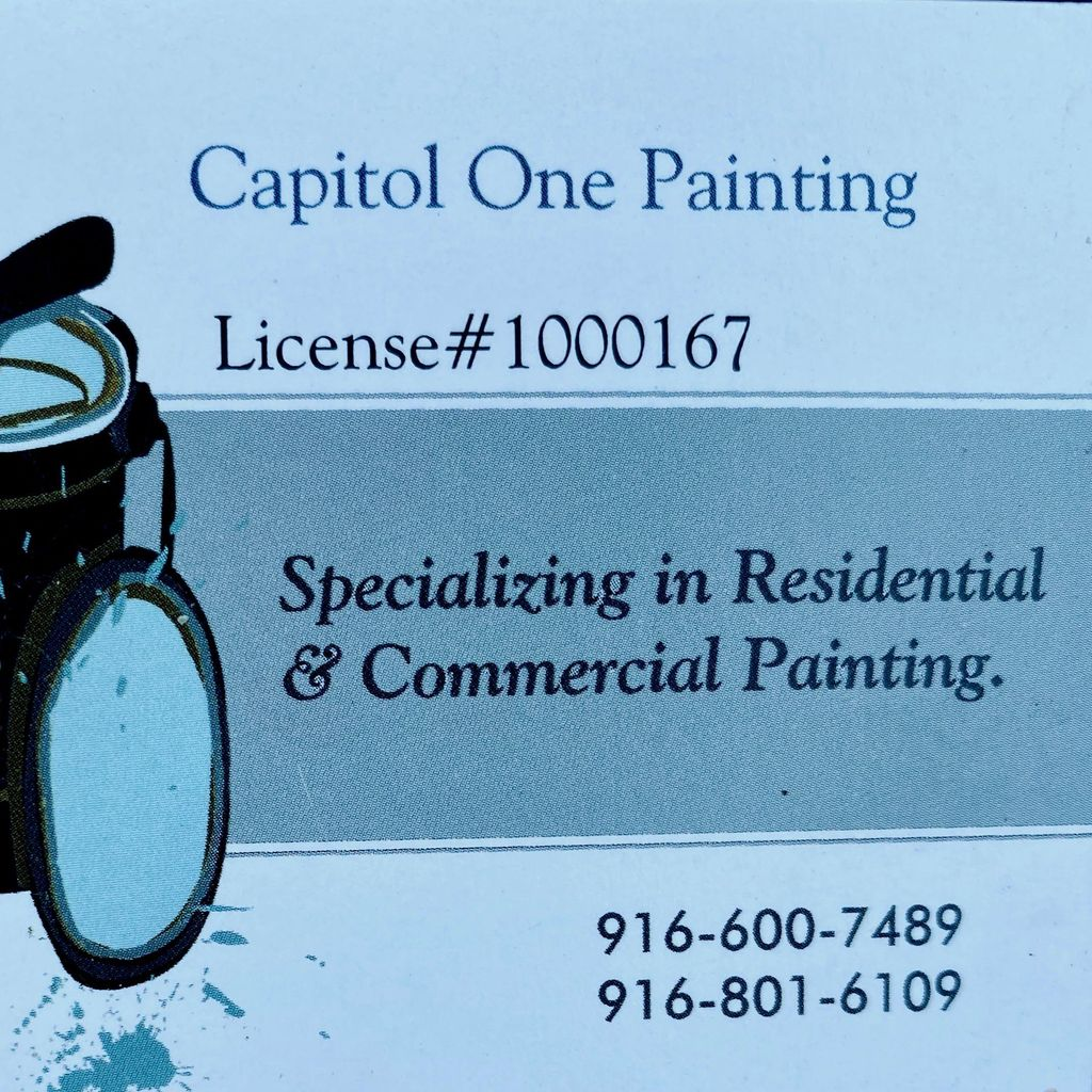 Capitol One Painting