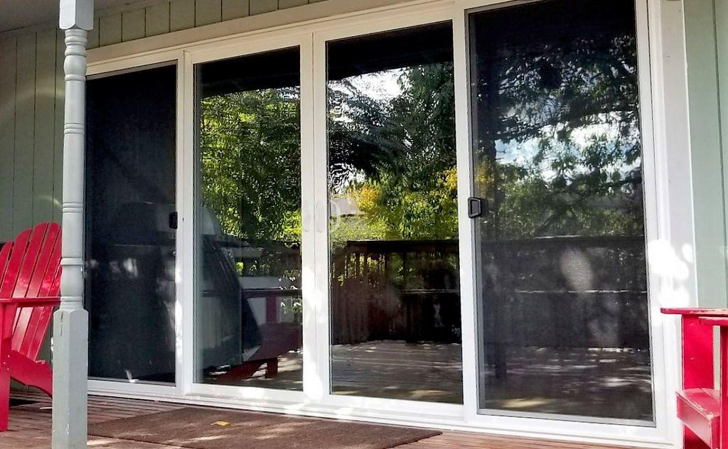 Fix sliding glass doors Three panels