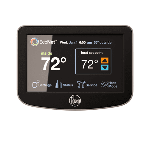 Full line of smart thermostats available