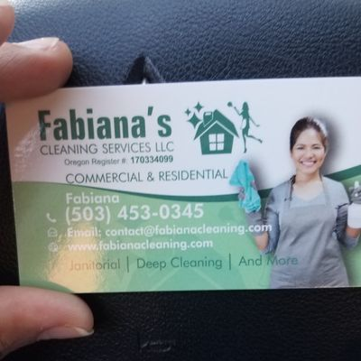Avatar for Fabiana's Cleaning Services LLC