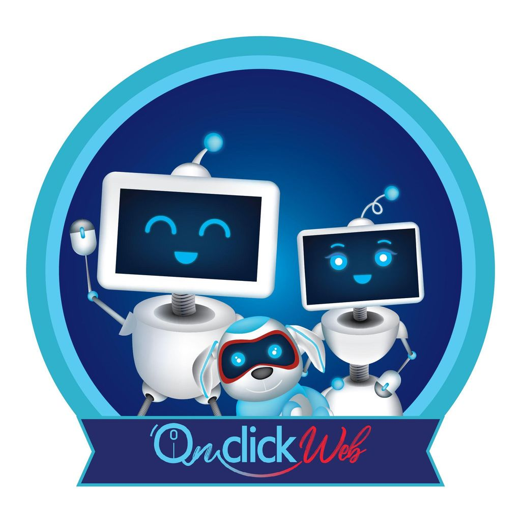 On Click Web Design, logo Design , Seo