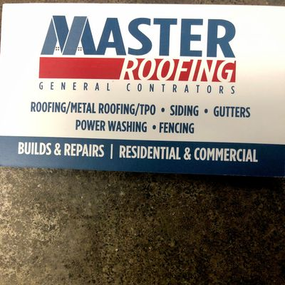 Avatar for Master roofing gutter and siding LLC