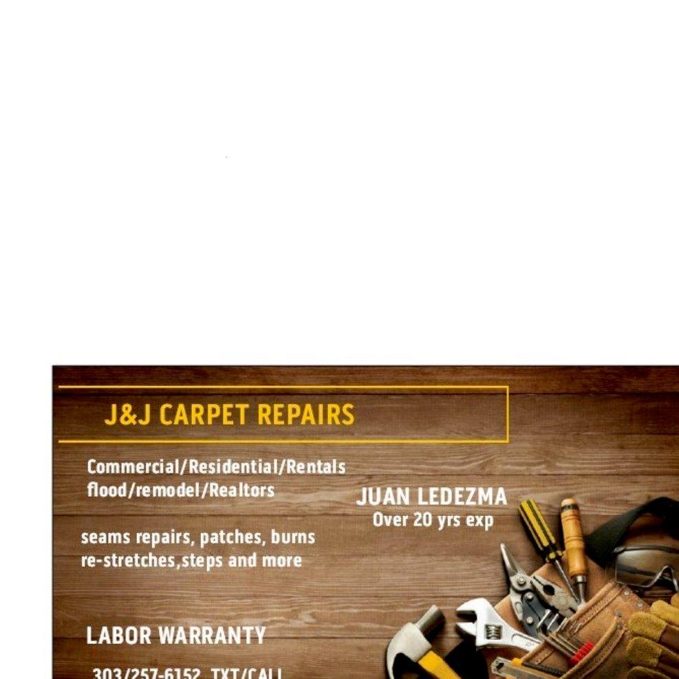 J&j carpet repairs and  minor installations