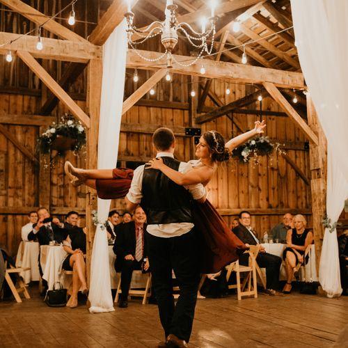 Madison & Matt Wedding Dance