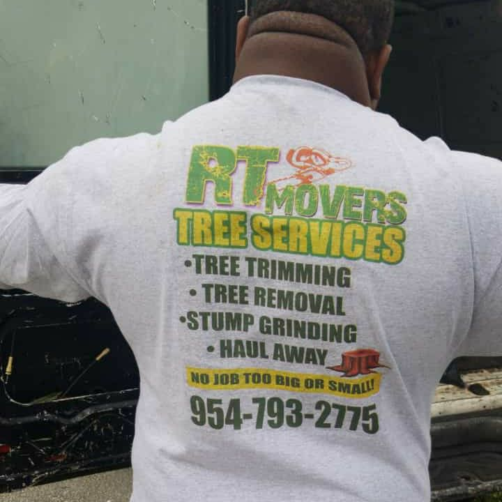 RT Movers tree trimming & removal