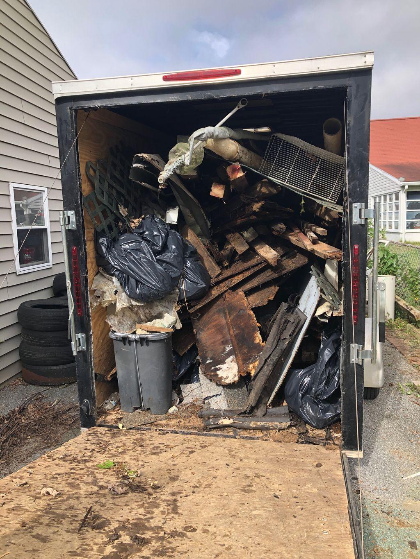 Demolition of a shed