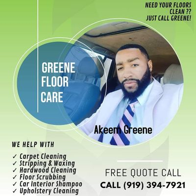 Avatar for Greene's floor care