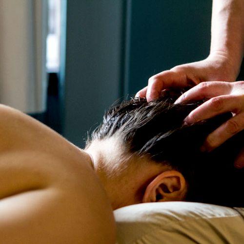 Mmmm...scalp work