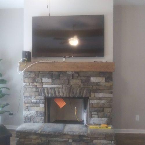 we mount tv's