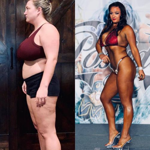 From 289lbs into a bikini competition body in 12 months
