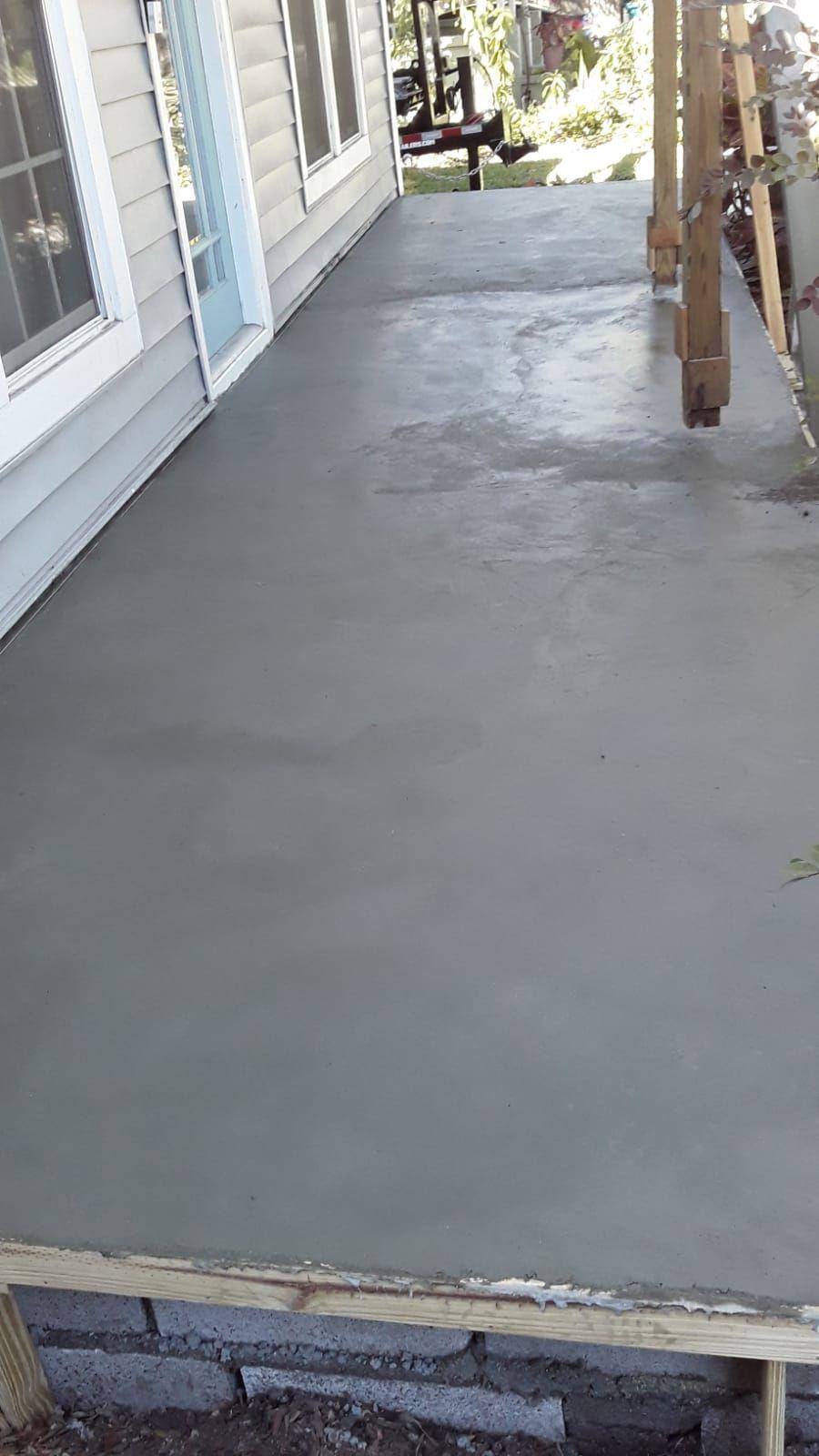 Concrete slab