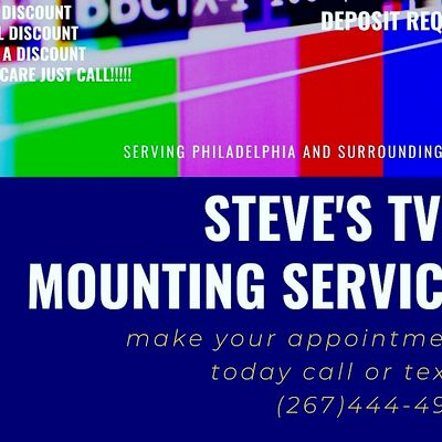 Avatar for Steve's tv mounting and more