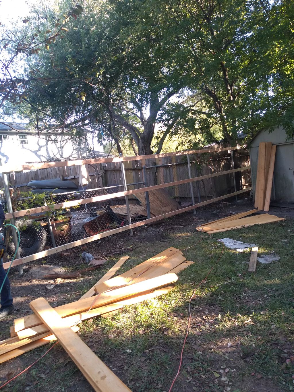 Reemplace  60 ft Fence