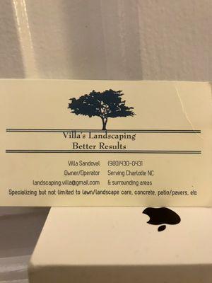 Avatar for Villa's Landscaping