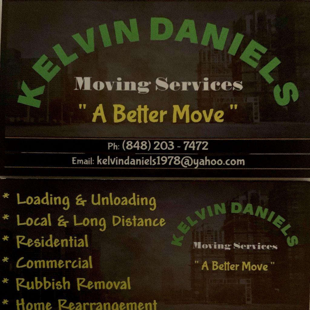 KELVIN DANIELS MOVING SERVICES