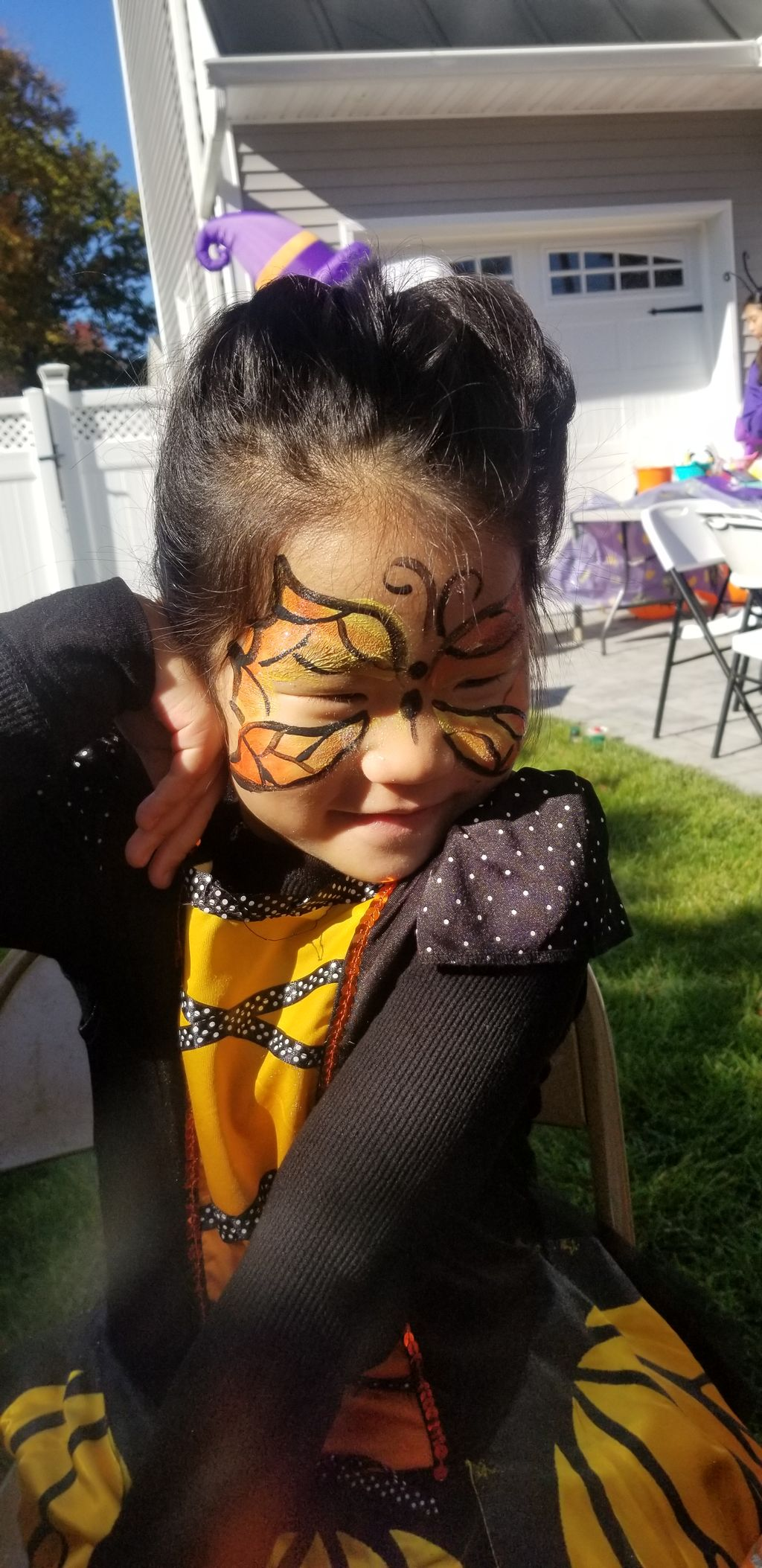 Face Painting for Community Event - River Edge 2020